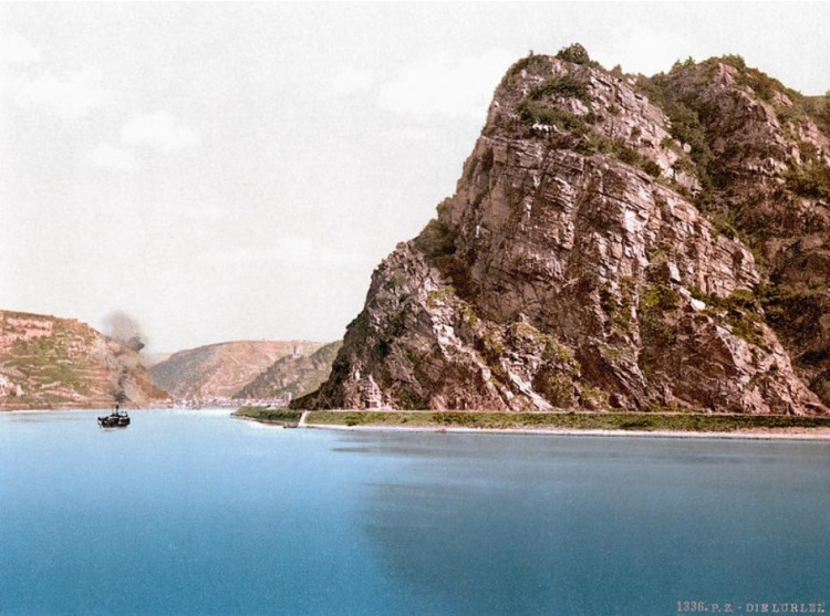 Lorelei Rock on the River Rhine