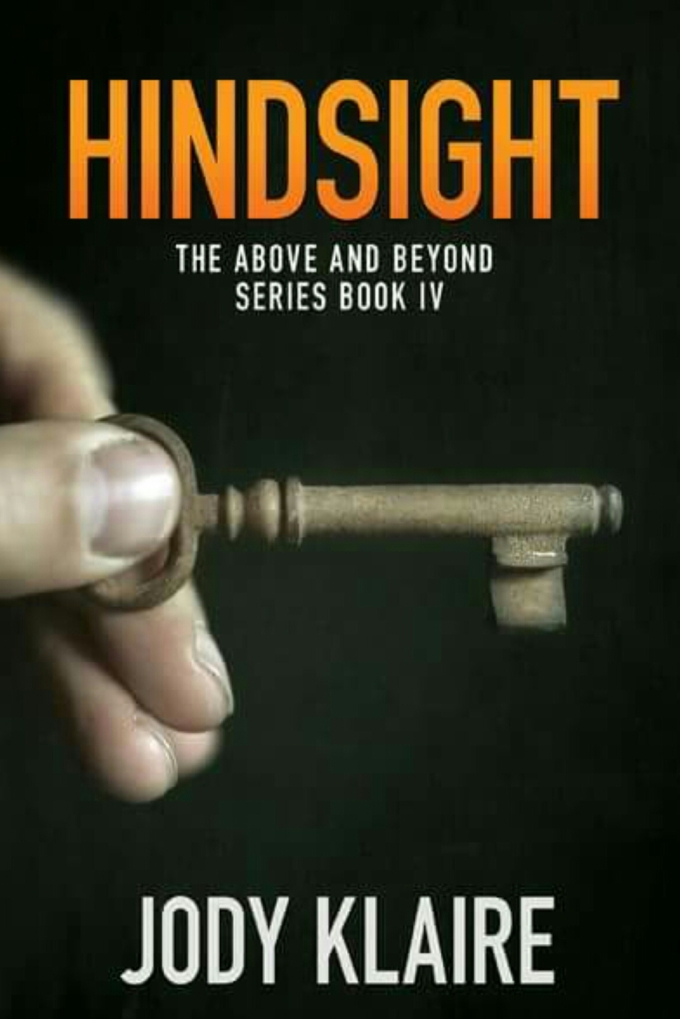 The blurb for Hindsight!